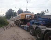Транспортировка негабаритного экскаватора в СПБ